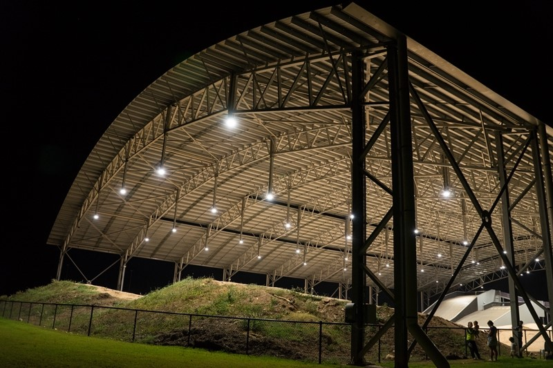 Image for Olympic-sized single span roof built in Darwin
