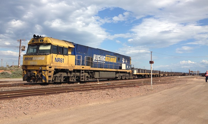 Image for Steel delivery kickstarts Inland Rail project