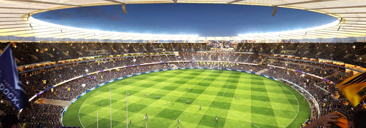 Image for Perth Stadium: a steel success story