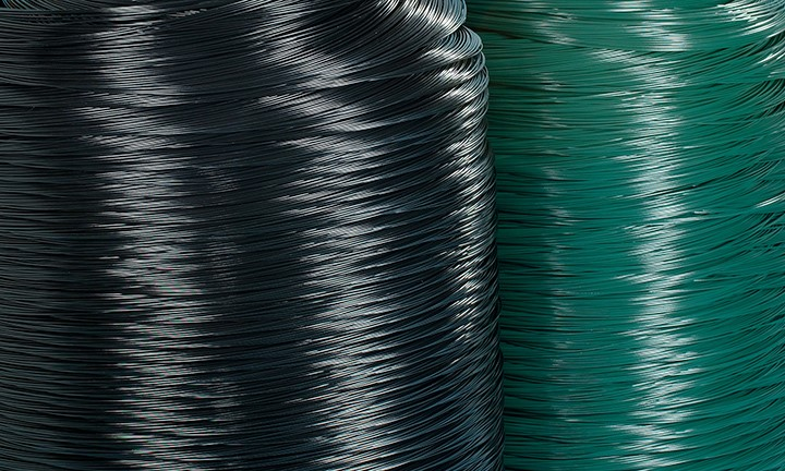 Image for PVC Coated Chain Mesh Wire