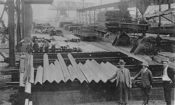 Image for Celebrating 100 years of steel in Newcastle