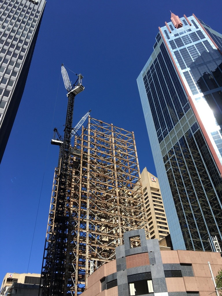 Image for Re-used steel at heart of new CBD building