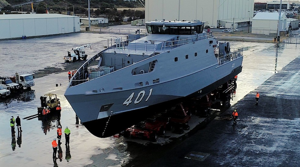 Image for Austal relies on Liberty's integrated solution