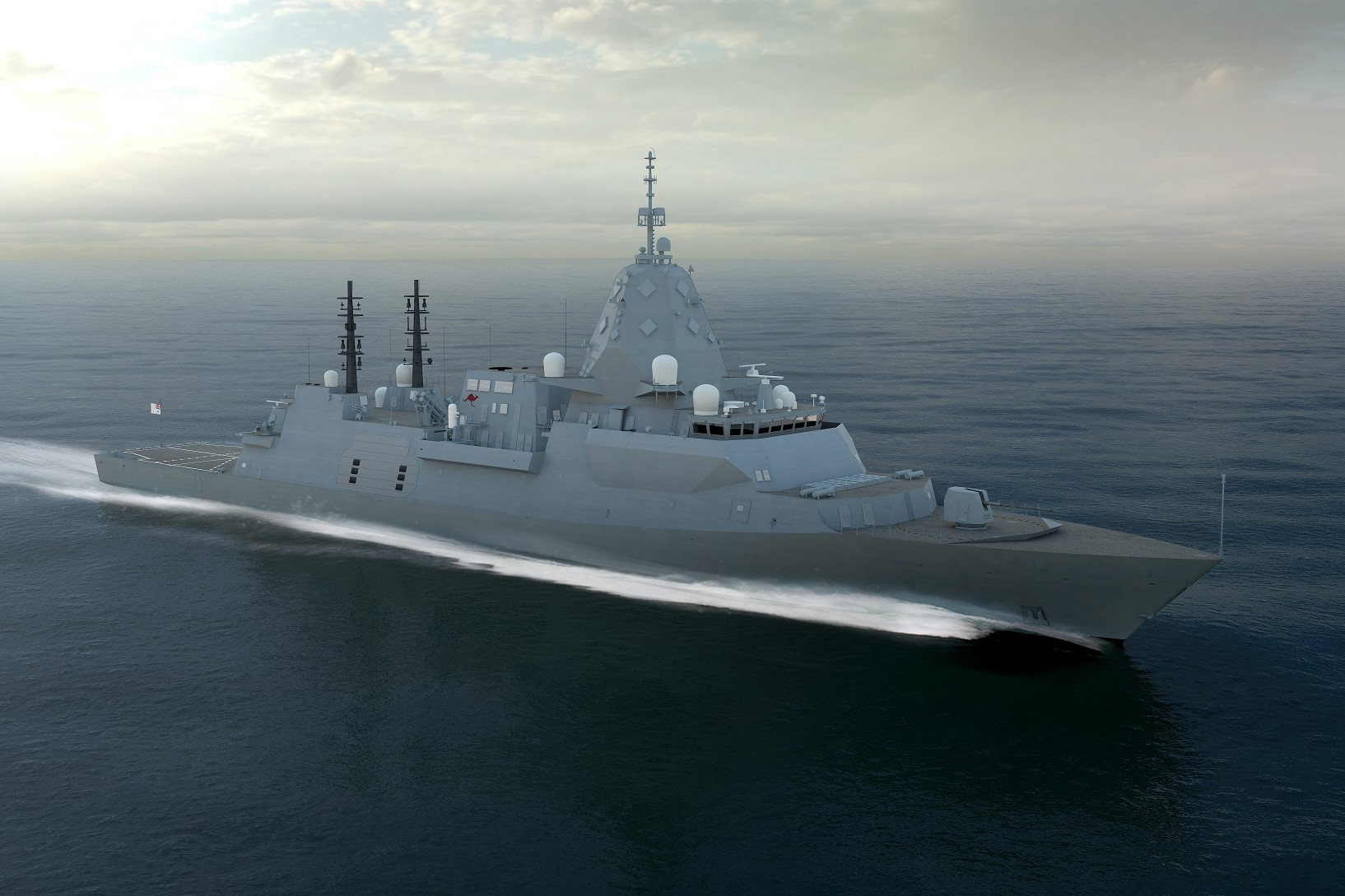 Image for Australian steel the winner as frigate plan announced
