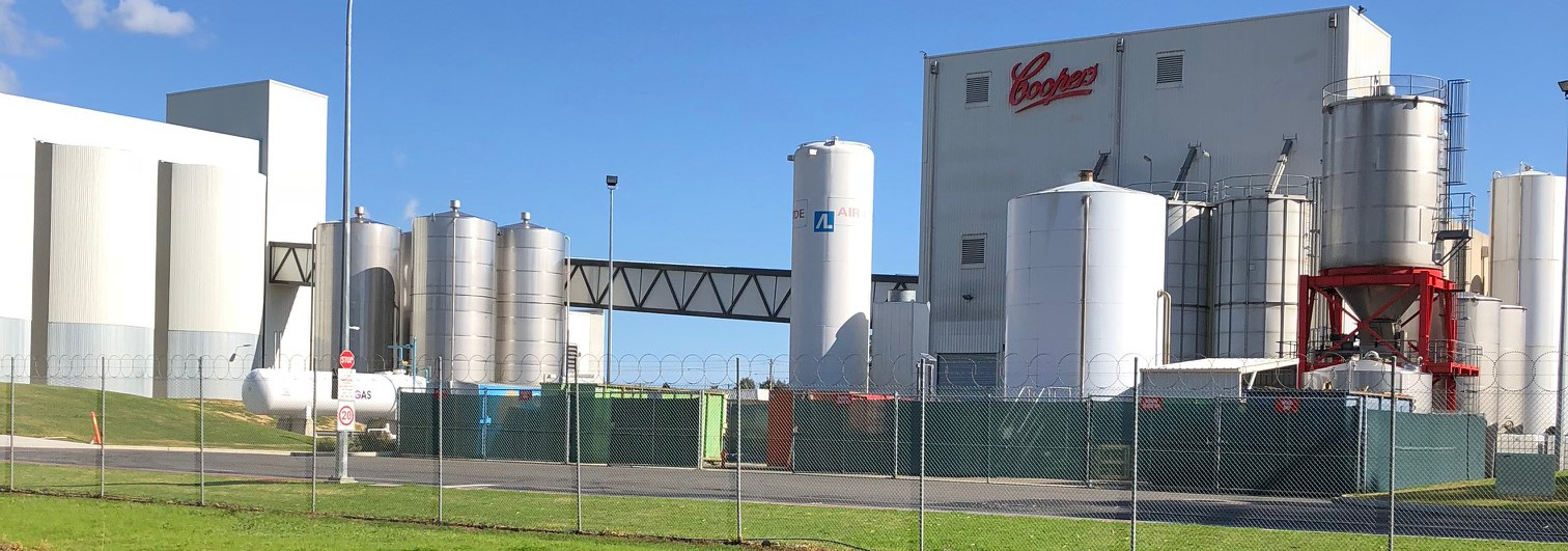 Coopers Brewery's new malting plant a winner