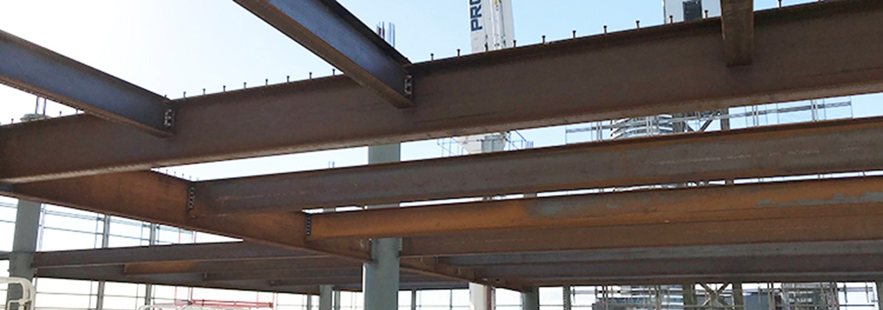 Image for Cambered structural steel for Brisbane's 300 George St