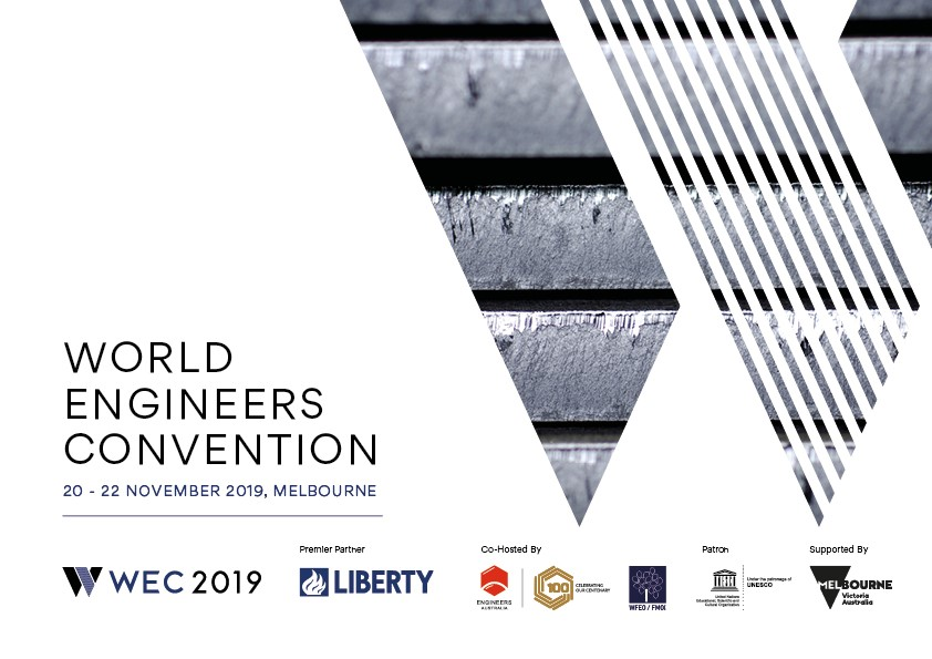 Image for World Engineers Convention 2019: Focus on sustainability