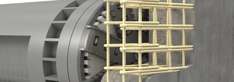 Image for GFRP D-Wall cages aid the work of Melbourne Metro Tunnel TBMs