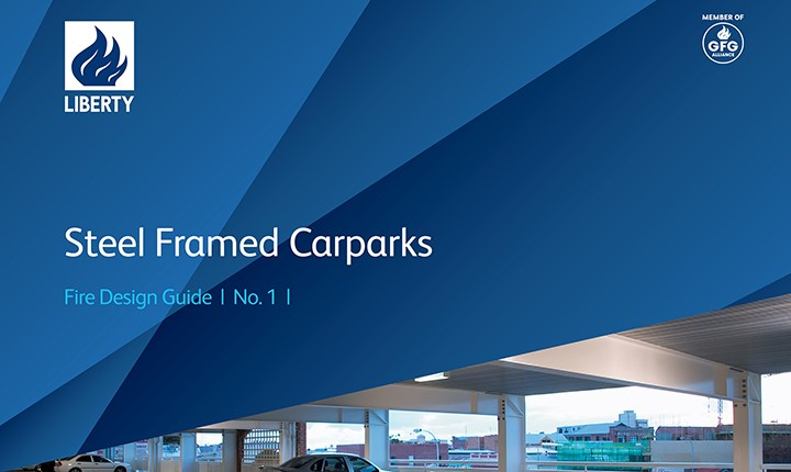 Image for Fire Design Guide No.1 – Steel Framed Carparks revised